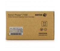 Тонер-картридж голубой Xerox Phaser 7100 / 7100N / 7100DN оригинальный
