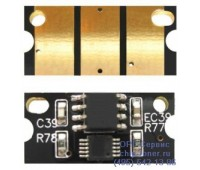 Чип желтого картриджа Konica Minolta Bizhub C203/C253
