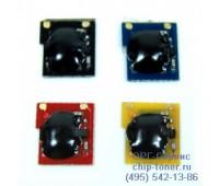 Чип пурпурного картриджа HP Color LaserJet CP3520 / CP3525