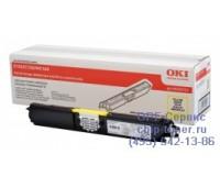 Картридж желтый 44250721 для Oki C110 / C130 / MC160 оригинальный