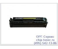 Картридж желтый HP Color LaserJet CP1215 / CP1515 / CP1518 / CM1312 ,совместимый