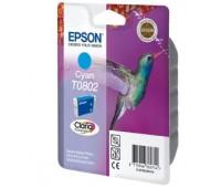 Картридж голубой Epson T0802 оригинальный