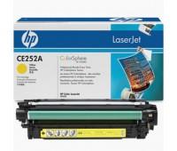 Картридж желтый HP Color LaserJet CP3520 / CP3525 / CP3525n / CP3525dn / CP3525x / CM3530 / CM3530fs оригинальный