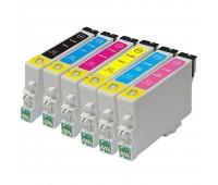 Комплект MultiPack (6 цветов) Epson T0487 совместимый