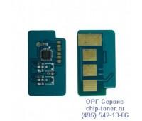 Чип голубого картриджа  Samsung CLP-360 / 365 / 365W / 368,  CLX-3300 / 3305