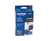 Картридж струйный черный Brother LC-980BK оригинальный