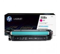 Картридж пурпурный HP LaserJet Enterprise 500 M552dn / M553 series / M577 series оригинальный