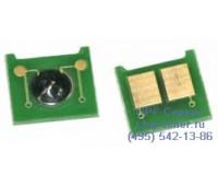 Чип желтого картриджа HP Color LaserJet CM3530