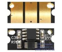 Чип голубого картриджа Epson AcuLaser C3900N